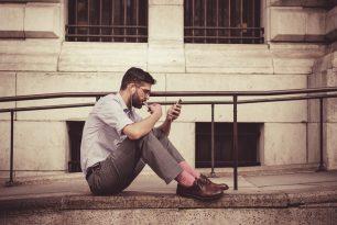 Een telefonisch interview kan uitstekend gehouden worden op een rustig stoepje
